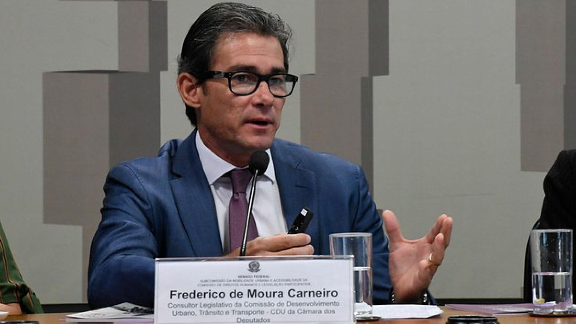 Frederico de Moura Carneiro será novo diretor do Denatran