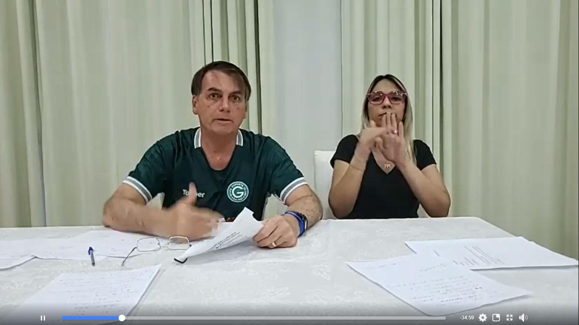 Bolsonaro diz que deve retirar projeto que altera Código de Trânsito
