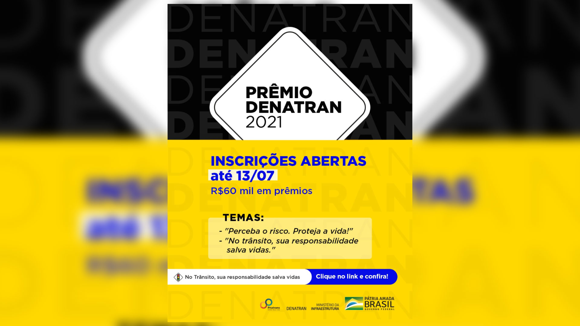 Participe do Prêmio Denatran 2021!!!