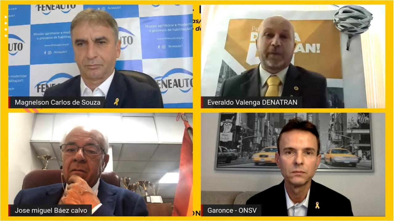 Maio Amarelo: veja como foi o Webinar da Feneauto com especialistas em trânsito