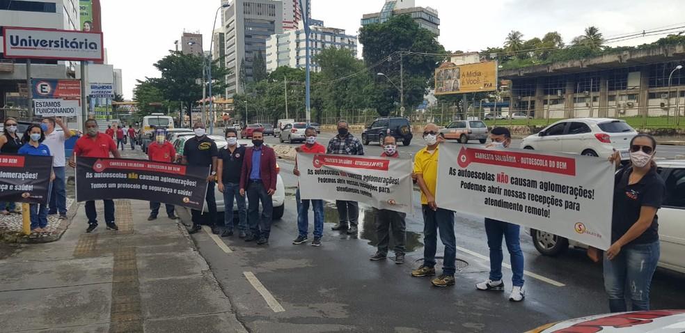 Sindicato das Autoescolas da Bahia promove mobilização solidária com categoria no estado